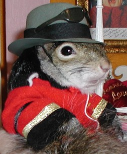 Michael Jackson's been squirreled