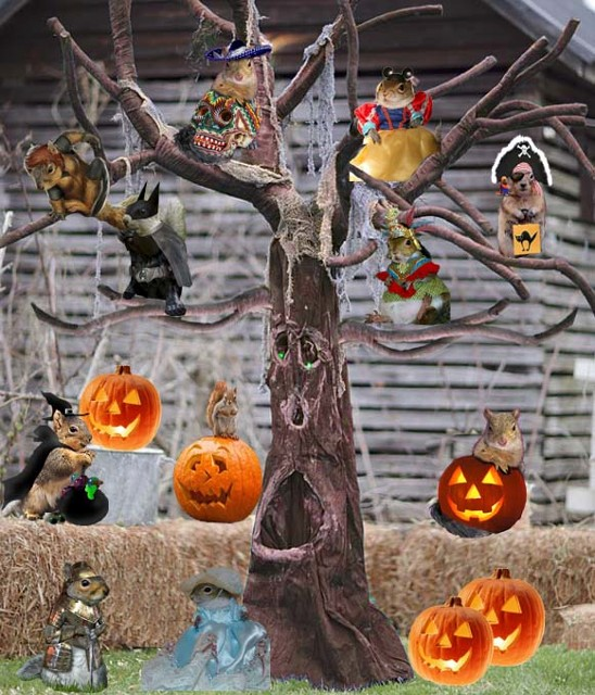 Halloween Tree made by Oklahoma epal