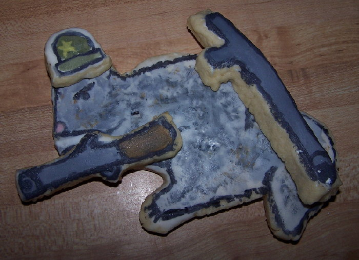 Sweet but dangerous...Sugar Bush Squirrel made into a cookie form by Ben