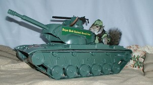 sugar bush squirrel tank attack team